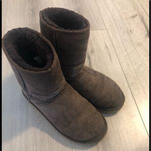 Dark brown Ugg boots